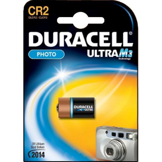 Батарейка Duracell CR2 New Ultra BL-1 3 В