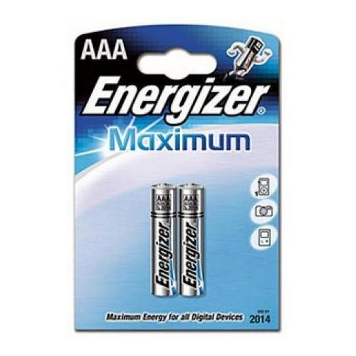 Батарейка Energizer LR 03 Maximum BL-2 1,5 B