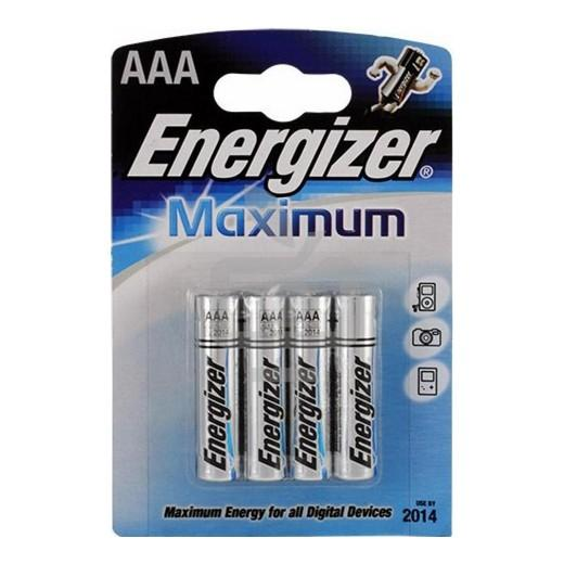 Батарейка Energizer LR 03 Maximum BL-4 1,5 В