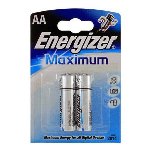Батарейка Energizer LR 6 Maximum BL-2 1,5 В