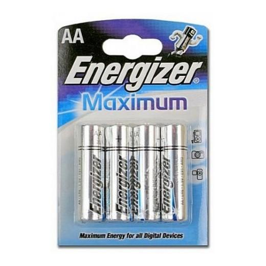 Батарейка Energizer LR 6 Maximum BL-4 1,5 В